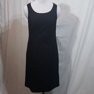 EUC Merona Black Career Sheath Dress Size 6